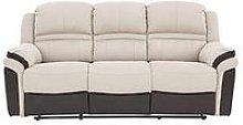 Petra 3 Seater Manual Recliner Sofa