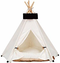 Pets Teepee Dog Bed Cat Bed Tent House With