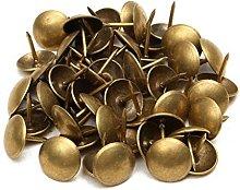 PETSOLA 1000 Pieces 7x10mm Round Dome Head Vintage