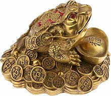 PETSOLA Feng Shui Toad Money LUCKY Fortune Wealth