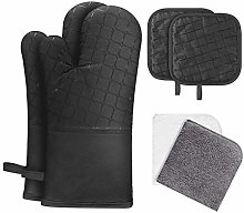 PETSOLA Oven Gloves Resistant Grill BBQ Gloves Non