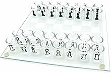 Petty Well Shot Glass Chess Game Drinking Game Set