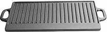 Petyoung Cast Iron Griddle Plate Double Sided Used