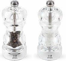 Peugeot Nancy Acrylic Duo Salt and Pepper Mill 12cm