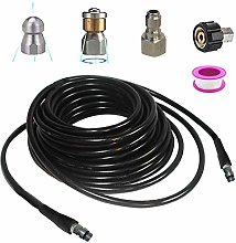 Pevfeciy Pressure washer drain hose cleaning kit,