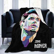 Peyolad John Mayer Throw Blanket for Couch Sofa