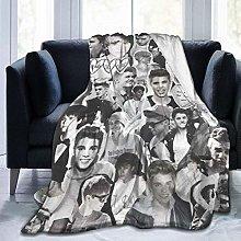 Peyolad Jus-tin Bie-BER Fleece Blanket Soft Warm