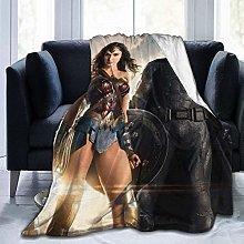 Peyolad Justice League Flannel Blanket Super Soft