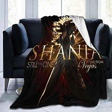 Peyolad Shania Twain Blanket Soft Blanket