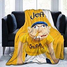 Peyolad Ultra-Soft Micro Fleece Blanket, SML-Jeffy