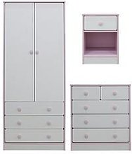 Peyton Kids 3 Piece Package - 2 Door, 3 Drawer