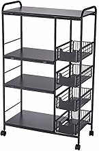 PF Microwave Cart Stand Kitchen Utility Storage