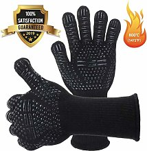 PGE Oven Gloves with Fingers, BBQ Gloves Heat