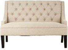 Phact Natural Tone Linen Upholstered High Back
