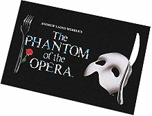 Phan-Tom of Opera Logo Placemats for Dining Table