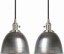 Phansthy Set of 2 Vintage Pendant Light with