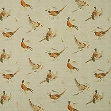 Pheasant Fryetts Game Bird Cotton Fabric Curtain