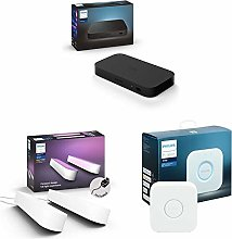 Philips Hue Play HDMI Sync Box Bundle, Includes