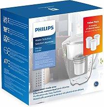 Philips Starter Set Water Filter Jug AWP2900 + 3