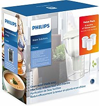 Philips Starter Set Water Filter Jug AWP2918 + 3