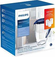 Philips Starter Set Water Filter Jug AWP2922 + 3