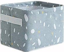PHINC Waterproof cotton and linen storage basket,