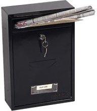 Phoenix Letra MB0116KB Front Loading Mail Box