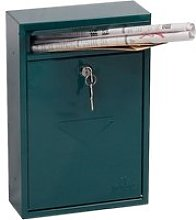 Phoenix Letra MB0116KG Front Loading Mail Box