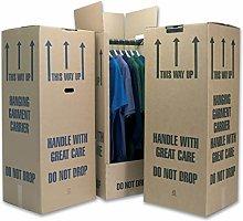 Phoenix Supplies 4 Tall Wardrobe Boxes Removal