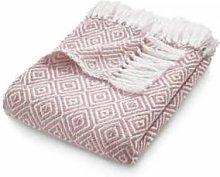 Phoenox Textiles - Hug Rug Woven Diamond Throw -
