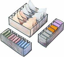 Phoetya Home Foldable Underwear Storage Box