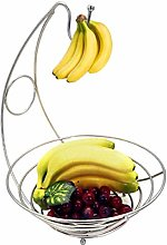 Phoetya Large Fruit Basket Hanger Kitchen Cupboard