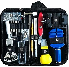 Phoetya Watch Repair Kit, 147-piece Tool Kit,