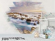 Photo Mural 350x256 cm - 7 Strips Landscape