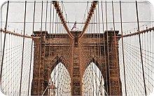 Photo of Brooklyn Bridge Welcome Door Mat Indoor