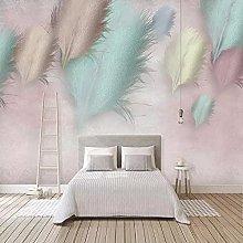 Photo Wallpaper 3D Fashion Feather Modern Mural