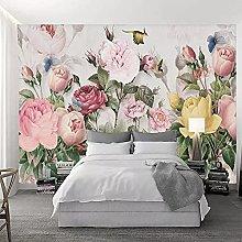 Photo Wallpaper 3D Flower Mural European Pastoral