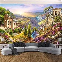 Photo Wallpaper 3D Garden Valley Landscape Nature