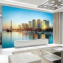 Photo Wallpaper 3D Modern New York Seaside City