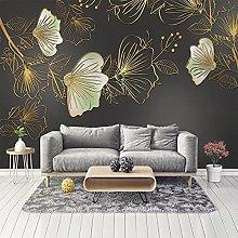 Photo Wallpaper 3D Mosaic Luxury Living Room TV