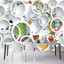 Photo Wallpaper 3D Stereo Fruit Mural Wallpaper