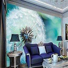 Photo Wallpaper 3D Stereo Mural Abstract Dandelion