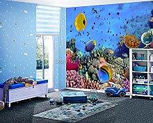 Photo Wallpaper 3D Stereo Underwater World