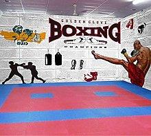 Photo Wallpaper Boxing Gym Mural Wallpaper Wall