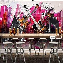 Photo Wallpaper for Bar Ktv Mural Painting Music