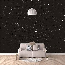 Photo Wallpaper for Home Bedroom, Black Stars Wall