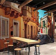 Photo Wallpaper for Walls 3D European Style Street