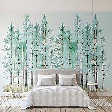 Photo Wallpaper Modern 3D Green Forest Murals