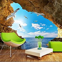 Photo Wallpaper Mural Wallpaper with Landscape,