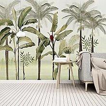 Photo Wallpaper Nordic Style 3D Banana Leaf Mural